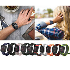 For Fitbit Versa/Versa 2/LITE Strap Woven Nylon Wrist Band Accessories Bracelet