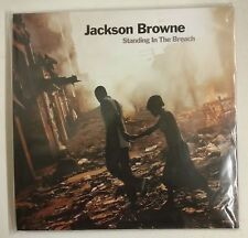 Jackson Browne Standing In The Breach 2-LP USA 2014 Portada gatefold