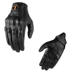 2021 Icon Pursuit Classic Women's Street Motorcycle Gloves - Pick Size