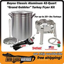 Turkey Deep Fryer Kit Grand Gobbler For 25 Lbs Turkeys Low Profile Cooker