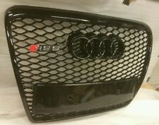 AUDI RS6 GRILL A6 TO RS6 S6 C6 SE SLINE BLACK TRIM, CHROME OR BLACK AUDI front 4
