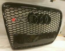 AUDI RS6 Grill A6 a RS6 S6 C6 se SLINE Ribete Negro, Cromo O frente Audi negro 4