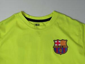 Barcelona FCB Soccer Barca Football Jersey #10 Messi La Pulga Size Medium