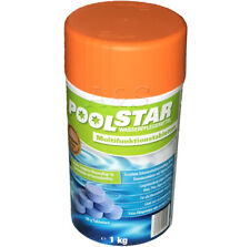 Poolstar Wasserpflegemittel Multifunktionstabletten 1kg Langzeitwirkung Pool NEU