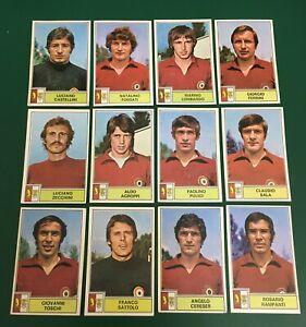 LOTTO DI 12  FIGURINE CALCIATORI PANINI 1971-72 TORINO RECUPERO