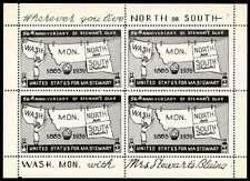 USA Poster Stamp - Advertising Mrs. Stewart's Bluing - Souv. Sheet - #1