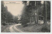 Ansichtskarte Bad Berka - Hubertusplatz im Dambachgrunde - um 1920 - s/w - RAR