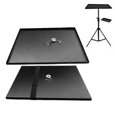 Projector Tray Stand Holder Tripod with 3/8'' turn 1/4'' Screw For 7-15''   #%@