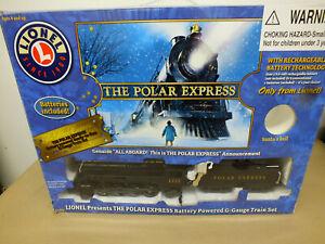 Lionel Polar Express G Gauge Train Set with Remote Control 7-11022 Works 1225
