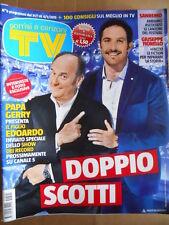 TV Sorrisi e Canzoni 5 2015 Gerry Scotti Festival Sanremo Giuseppe Fiorello[D46]