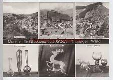 (86716) Foto AK Lauscha, Mehrbildkarte Museum für Glaskunst 1984