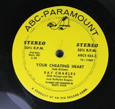 Soul 45 Ray Charles - Your Cheating Heart / No Letter Today On Abc-Paramount