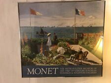 "Print Monet French Riviera 33""X30""framed+acrylic Glass.C8pixs4details MAKE OFFER"