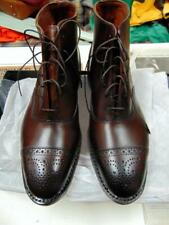 Allen Edmonds Fifth Street 7.5 Dark Brown Leather Made in USA Cap Toe Boots