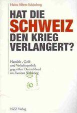 Hat die Schweiz den Krieg verlängert? Albers-Schönberg NEU OVP Handels-, Gold- u