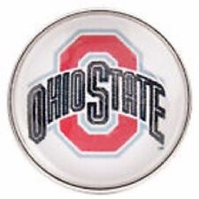 Fits Ginger Snaps OHIO STATE OSU Snap Buckeyes College Jewelry 18mm University