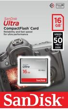 SanDisk 16GB Ultra Compact Flash Card CF CompactFlash Format 50MB/sec 16 GB