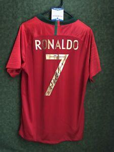 Cristiano Ronaldo 2018 Portugal World Cup Signed NIKE Jersey Beckett COA