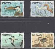 Timbres Oiseaux Bahamas 480/3 ** lot 28429 - cote : 15 €