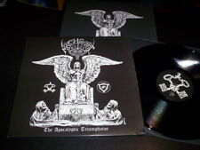 "Archgoat ‎""The Apocalyptic Triumphator"" LP insert Debemur Morti Productions"