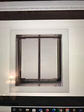 Plexidor Premium Wall Mounted Silver Pet Doors in Medium