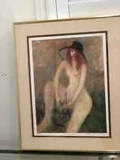 Barbara A Wood – Signed Lithograph Framed – 178/875