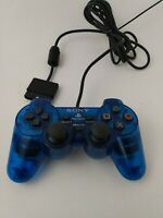 Ocean Blue DUALSHOCK 2 CONTROLLER for Sony Playstation 2 / PS2 | SCPH-10010