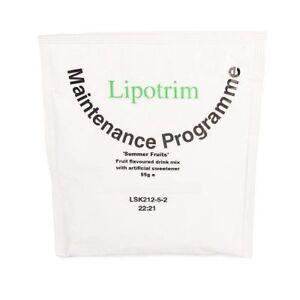 Lipotrim Maintenance Summer Fruits drink: weight loss diet / weight maintenance