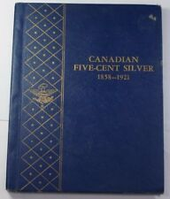 Whitman Canadian Five-Cent Sliver Album #9502 USED Good Condition *NO COINS*