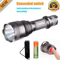 5000 Lumen Ultra Bright Rechargeable Cree T6 LED Camping Hiking Flashlight Torch