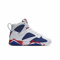"Air Jordan 7 Retro ""Olympic Tinker Alternate"" Big Kids Shoes White/Blue/Red/Gold"