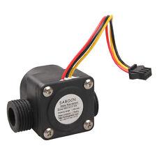 G1/2 Water Flow Sensor Fluid Flowmeter Switch Counter 1-30L/min Meter
