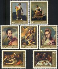 Hungary 1968 Goya/El Greco/Velasquez/Art/Painting/Artists/Painters 7v set n45551