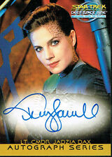 STAR TREK DS9 MEMORIES FROM THE FUTURE AUTOGRAPH CARD A6 TERRY FARRELL AS DAX
