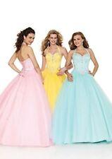 Full Length Satin Halterneck Ballgowns for Women