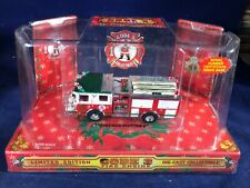 N-34 CODE 3 1:64 SCALE DIE CAST FIRE ENGINE - 1999 CHRISTMAS EDITION #2 PUMPER