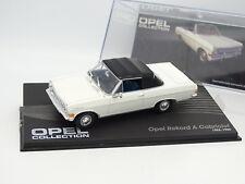 Ixo Press 1/43 - Opel Rekord A Cabriolet 1963 White