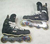 Mission Proto VS Inline Roller Hockey Skates Senior Size 12D Rollerblades