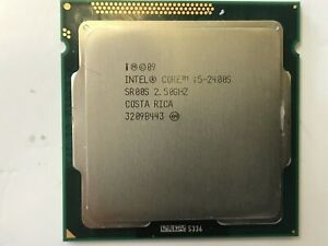 INTEL CORE i5-2400s 2.50GHz 4 Cores 4 Threads CPU