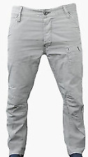 G-Star 5620 3D Low Tapered Grey Jeans Men's UK Size 36W 32L *REF29-19*