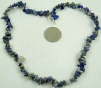 Natural lapis lazuli Chip Shape beads Handmade Gemstone Jewellery Necklace R121