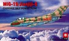 Jianjiji J-6 (chinois AF F-6/MiG 19/Farmer) 1/72 plastyk