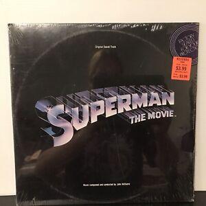 John Williams – Superman The Movie (Original Sound Track) LP 1978 Warner *SEALED