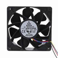 7500RPM Mining Cooling Fan Replacement 4-pin 12V 5A For Antminer Bitmain S7 S9