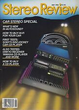 Stereo Review Magazine May 1986 Sony EV-S700, Pioneer VX-90, Yamaha CD-2000