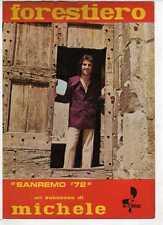 SC2 SPARTITI FORESTIERO MICHELE - Canto/Mandolino/Fisa 1972