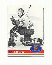 1991 FUTURE TRENDS-VLADISLAV TRETIAK-HOF-1972 CANADA-RUSSIA SERIES-#11-NM+