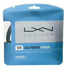 LUXILON ALU POWER ROUGH 125 (16L) Big Banger tennis racket string (lot of 5)