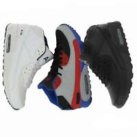 AIR TECH MENS RUNNING TRAINERS GYM JOGGING WALKING SHOCK ABSORBING SPORTS SHOES