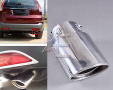 CHROME EXHAUST TAIL MUFFLER TIP PIPE for HONDA CRV CR-V 2007-2011